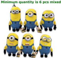 Minions 6 assorti 34cm Amusement