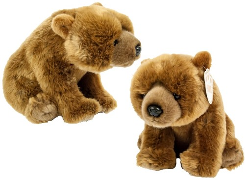 Earth Collection Pluche Grizzly Beer 25cm