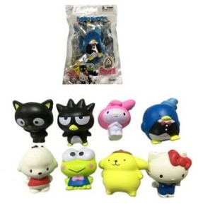 Hello Sanrio Squishme Squishiees 8 assorti 7cm