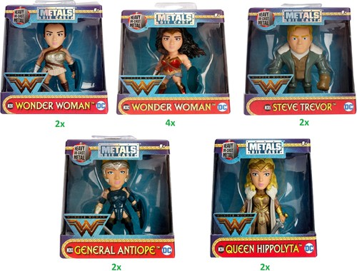 "Metals Die-Cast DC Girls 2,5"" / 6cm assorti"
