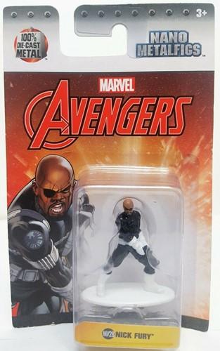 Marvel Spiderman & Avengers Nano Metalfigs assorti 4,5cm-2
