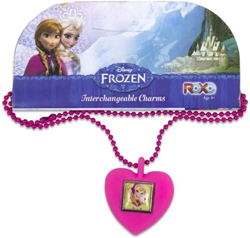Disney Frozen Nekketting met vervangbare Charms Anna