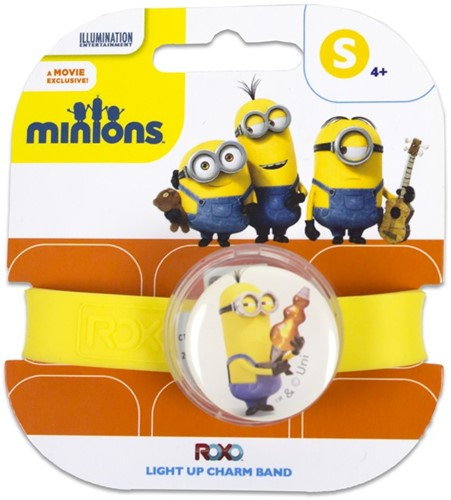 Minions Light Up Charm Band S Kevin
