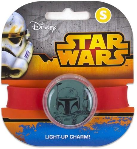 Star Wars Light Up Charm Band S Boba Fett