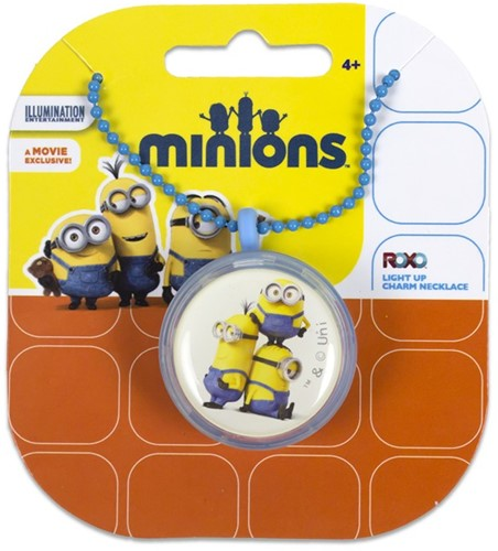 Minions Light Up Charm Nekketting