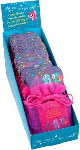 llvy and the Minimoomis Gummi Twist Elastiek 4 meter lang in display