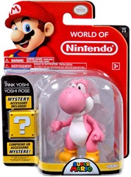 Super Mario Figurine in Blisterpack Pink Yoshi 17x22cm