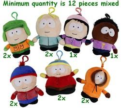 South Park Pluche 7 Assorti Zacht Bagclip 12cm