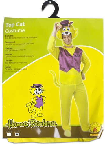 Rubies Kostuum Hanna Barbera Top Cat XL