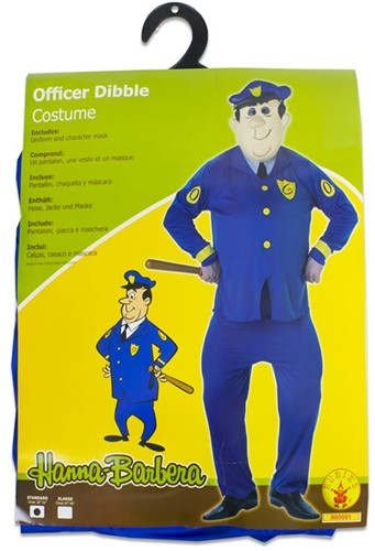 Rubies Kostuum Hanna Barbera Officer Dibble Deluxe Standard