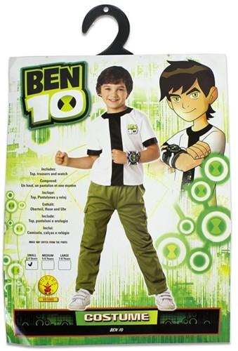 Rubies Kostuum Classic Ben 10 Small 3-4 104cm.