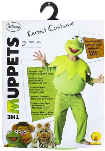 Rubies Kostuum The Muppets Kermit the Frog Small
