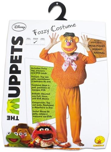 Rubies Kostuum The Muppets Deluxe Fozzy Bear Medium