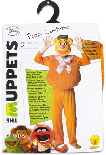 Rubies Kostuum The Muppets Deluxe Fozzy Bear Small