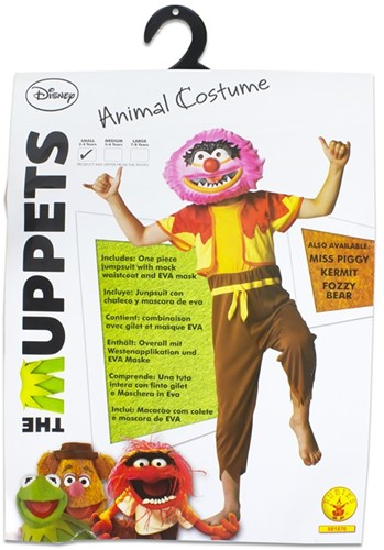 Rubies Kostuum The Muppets Animal Small