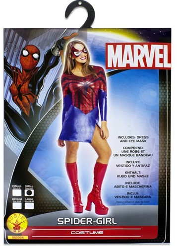 Rubies Kostuum Marvel Spider-Girl 8-10 Small