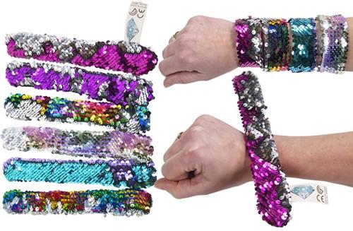 Armband Snap Bracelet 6 assorti 23cm