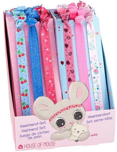 House of Mouse hairaccessoires assorti 16 stuks in display