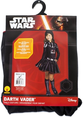 Rubies Kostuum Darth Vader Girl Medium