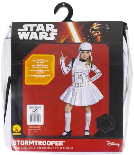 Rubies Kostuum Storm Trooper Girl Large