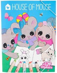 House of Mouse kleurboek 12 stuks in dis