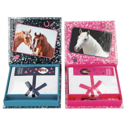 Depesche Horses Dreams Notitieboek met potlood 2 assorti