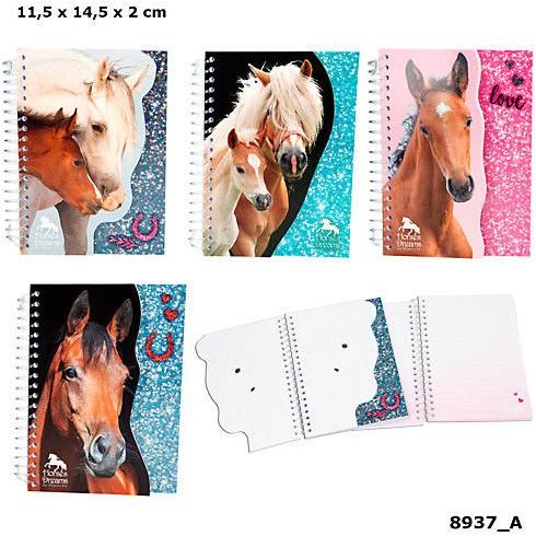 Depesche Horses Dreams Notitieboek 4 assorti in display (32)