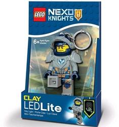 Lego Nexo Knights Mini LED-zaklamp met sleutelhanger Clay