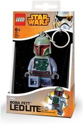 Lego Star Wars Mini LED-zaklamp met sleutelhanger Boba Fett