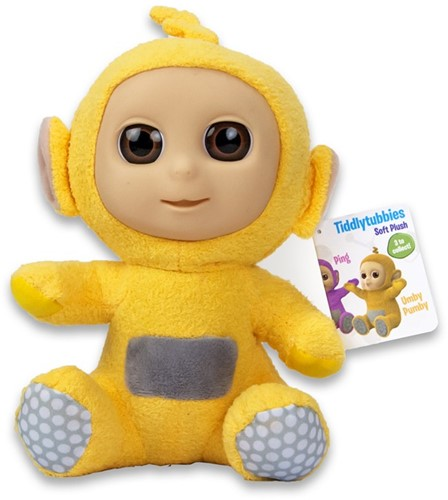 Tiddlytubbies S3G Yellow UmbyPumby zittend 24cm
