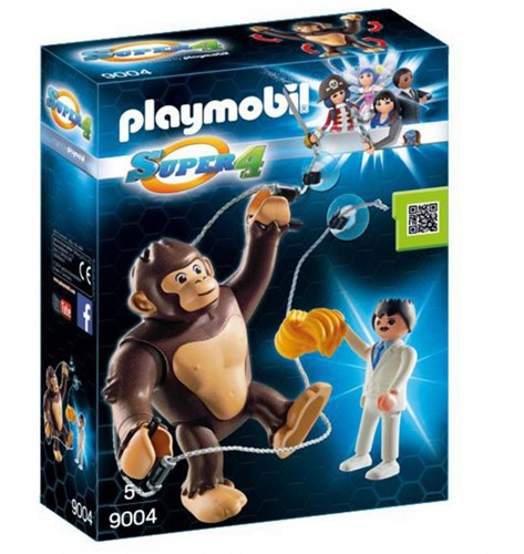 Playmobil Super 4 Reuzen Aap Gong
