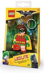 Lego The Batman Movie Mini LED-zaklamp met sleutelhanger Robin