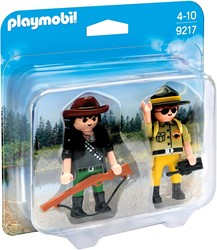 Playmobil Duo Pack Ranger & Hunter
