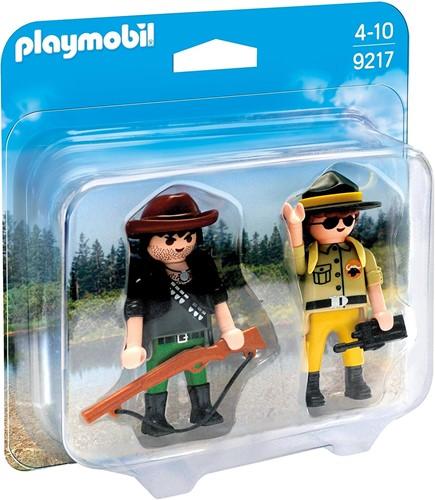 Playmobil Duo Pack Ranger & Hunter