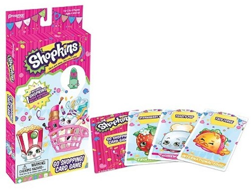 Shopkins Go Shopping Cardgame