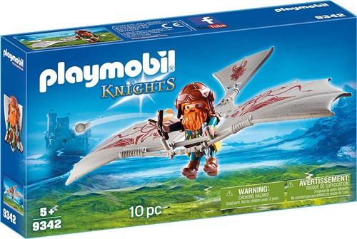 Playmobil Knights Dwerg vliegmachine