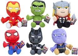 Marvel Avengers pluche Gift 6 assorti 24cm