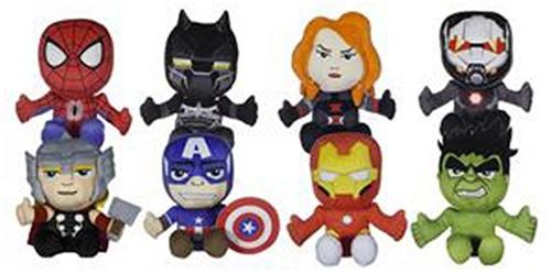 Marvel Avengers pluche 8 assorti 18cm