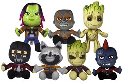 Guardians of the Galaxy pluche 7 assorti 18cm