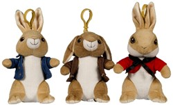 Peter Rabbit Bagclip 3 assorti (P3-B2-F1)