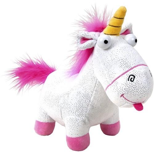 Fluffy Unicorn S5 Glitter 30x34cm
