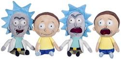 Rick & Morty pluche S3 Gift 4 assorti 27cm