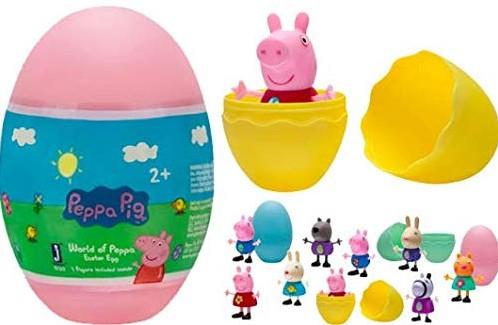 Peppa Pig verzamelfiguren in verrassingsei assorti in display (36)