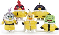 Angry Birds 2 Eagle Island Pluche 5 assorti S3