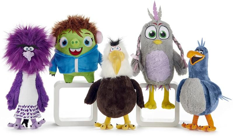 Angry Birds Movie 2 Friends S3 Plush Soft Toy 28cm Zeta Eagle