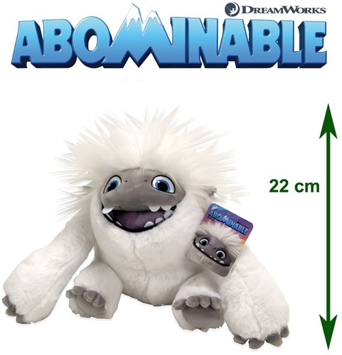 Abominable - Everest: De Jonge Yeti Pluche Everest (open mond) S3 22cm