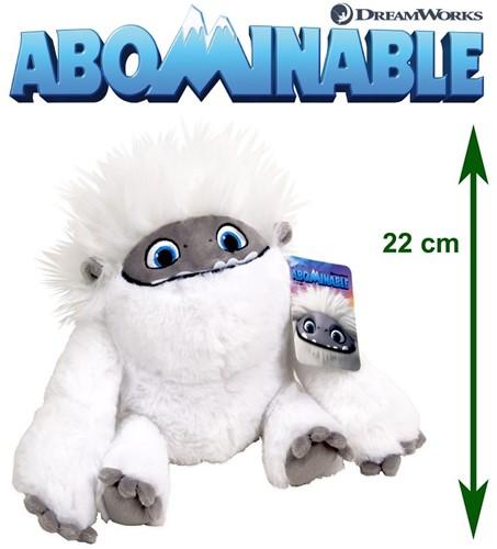Abominable - Everest: De Jonge Yeti Pluche Everest (gesloten mond) S3 22cm