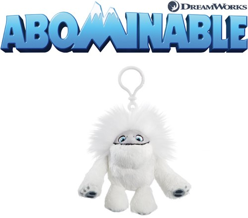 Abominable - Everest: De Jonge Yeti Pluche Bagclip Everest 9,5cm