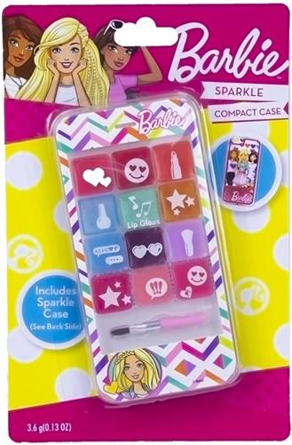 Barbie Lipgloss Set Sparkle Telefoon 7x14cm