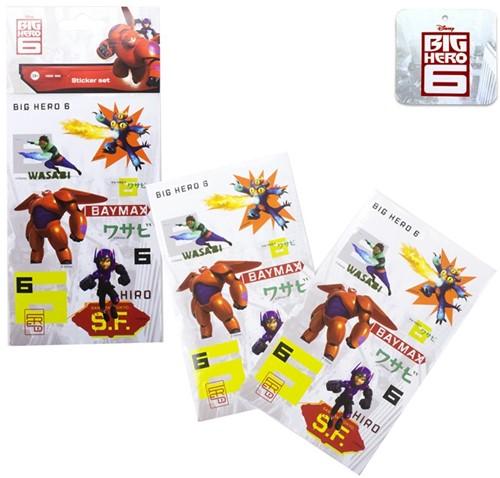 Disney Big Hero 6 Sticker Set 9,5x21cm